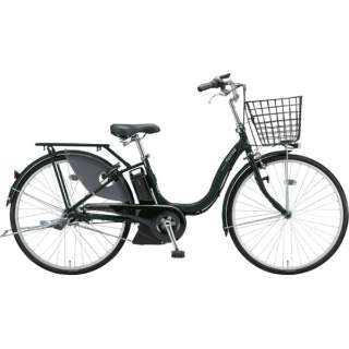 26型 電動アシスト自転車 アシスタファイン DX(クロツヤケシ/内装3段変速)A6XC49【2019年モデル】 【組立商品につき返品不可】