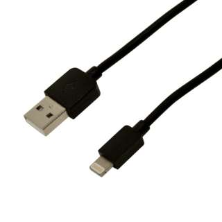 [ライトニング] 充電・通信ケーブル 1m R10CAAL2A01BK ブラック [1.0m]