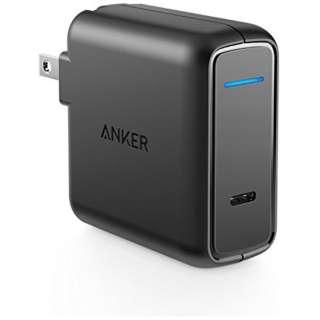スマホ用USB充電コンセントアダプタ ノートPC・ 30W [1ポート: USB Type-C /Power Delivery対応] A2014113 ブラック