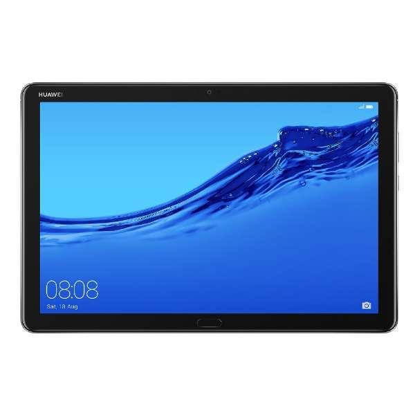 BAH2-L09 Androidタブレット MediaPad M5 Lite 10 スペースグレー [10.1型 /ストレージ:32GB /SIMフリーモデル]