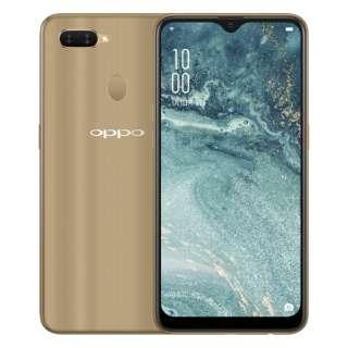 OPPO AX7 ゴールド Snapdragon 450 6.2型 メモリ/ストレージ: 4GB/64GB nanoSIM×2 DSDV対応 SIMフリースマートフォン