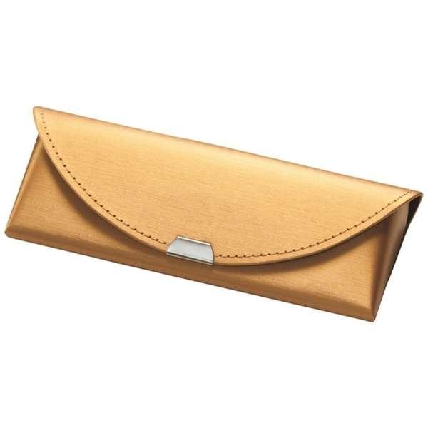 セミハード メガネケース(ゴールド)SO-76 GL