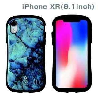 [iPhone XR専用]iFace First Class Marbleケース(ブルー) 41-899236