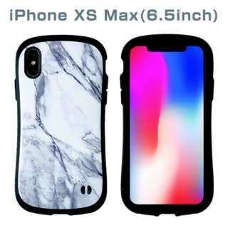 [iPhone XS Max専用]iFace First Class Marbleケース(ホワイト) 41-899403