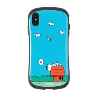 [iPhone XS Max専用]PEANUTS/ピーナッツ iFace First Classケース 41-904428 スヌーピー&ウッドストック/犬小屋