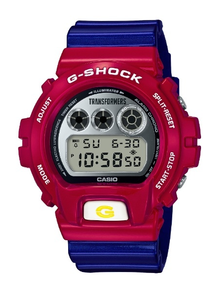 G-SHOCK × TRANSFORMERS 마스터 옵티머스 프라임 공진 모드 [남자 시계 / 배터리] DW-6900TF-SET