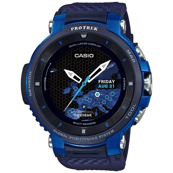 WSD-F30-BU メンズスマートウォッチ PRO TREK Smart(プロトレックスマート) ブルー