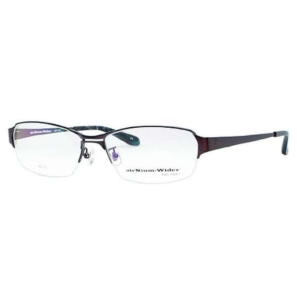 【度付き】airNium-wider メガネセット(ワインレッド)AW1-1004-3 [超薄型/屈折率1.67/非球面]