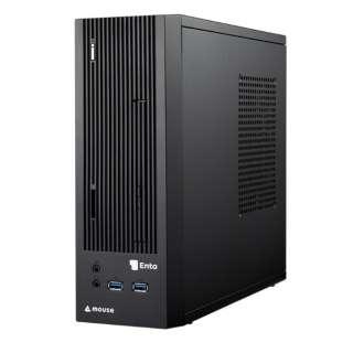 Enta デスクトップパソコン [モニター無 /intel Core i3 /SSD:240GB /メモリ:8GB /2018年12月モデル] ENTA-SPI81M8S2-183 ブラック [モニター無し /メモリ:8GB]