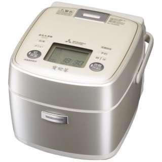NJ-SU06R-S 炊飯器 炭炊釜 シルバー [3.5合 /IH]