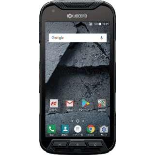 【防水・防塵】Dura Force Pro ブラック「KCS702」5型 メモリ/ストレージ:2GB/32GB nanoSIM 高耐久SIMフリースマートフォン KCS702 ブラック