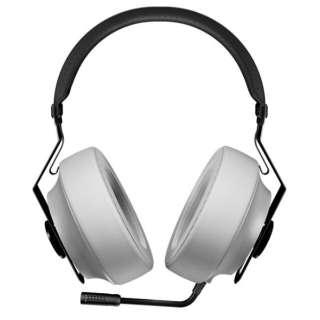 CGR-P40NW-150 有線ゲーミングヘッドセット PHONTUM Essential ホワイト [φ3.5mmミニプラグ /両耳 /ヘッドバンドタイプ]