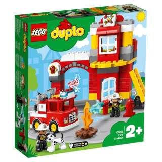 10903 デュプロ 光る!鳴る!消防車と消防署