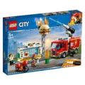 LEGO(レゴ) 60214 シティ ハンバーガーショップの火事