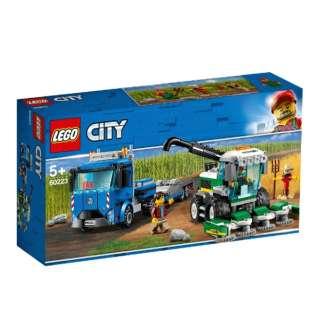 60223 シティ 収穫トラクターと輸送車