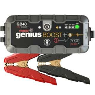 GB40 リチウムジャンプスターター 12V1000A 2150mA