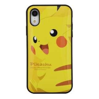 iPhone XR用 IIIIfitケース ポケットモンスター POKE-605A ピカチュウ