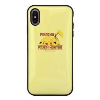 iPhone XS Max用 IIIIfitケース ポケットモンスター POKE-606A ピカチュウ