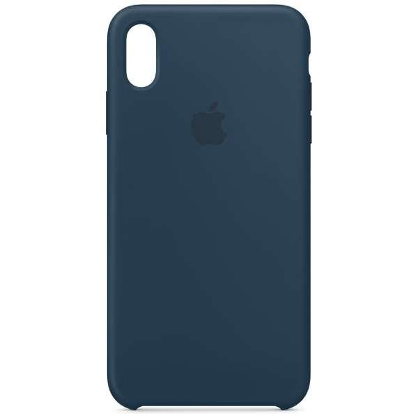 【純正】iPhone XS Max シリコーンケース パシフィックグリーン
