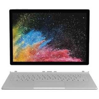 Surface Book 2[13.5型/SSD:128GB/メモリ:8GB /IntelCore i5/シルバー/2018年12月モデル]HMU-00010 Windowsタブレット サーフェスブック2