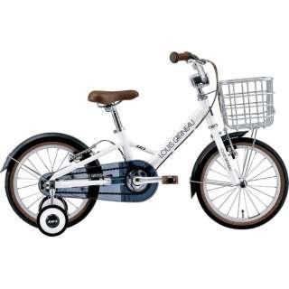 16型 子供用自転車 K16 plus 220mm(LG WHITE/シングルシフト) 【組立商品につき返品不可】