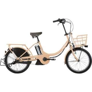 20型 電動アシスト自転車 LGS ASCENT deluxe アセント デラックス 365mm(ANTIQUE PINK/内装3段変速) 73748003 【組立商品につき返品不可】