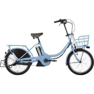 20型 電動アシスト自転車 LGS ASCENT deluxe アセント デラックス 365mm(SMOKE BLUE/内装3段変速) 73748004 【組立商品につき返品不可】