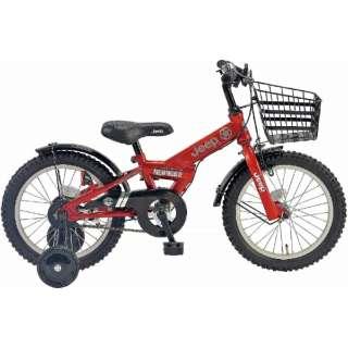 16型 幼児用自転車 JE-16G(レッド/シングルシフト) JE_16G【2019年モデル】 【組立商品につき返品不可】