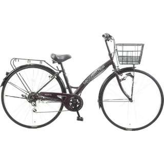 27型 自転車 ダカラットノエル シティHD-BAA(ブラックパープル/外装7段変速)CA_B277BK_HD_BAA_A【2019年モデル】 [27インチ /外装7段] 【組立商品につき返品不可】