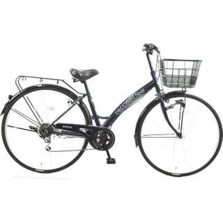 27型 自転車 ダカラットノエル シティHD-BAA(ミッドナイトブルー/外装7段変速)CA_B277BK_HD_BAA_A【2019年モデル】 [27インチ /外装7段] 【組立商品につき返品不可】