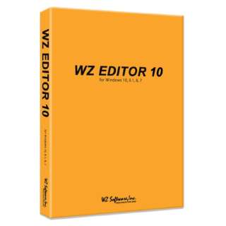 WZ EDITOR 10 CD-ROM版 [Windows用]