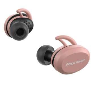 【アウトレット品】 フルワイヤレスイヤホン パイオニア ピンク SE-E8TW-P [リモコン・マイク対応 /ワイヤレス(左右分離) /Bluetooth] 【生産完了品】