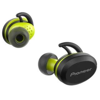 【アウトレット品】 フルワイヤレスイヤホン パイオニア イエロー SE-E8TW-Y [リモコン・マイク対応 /ワイヤレス(左右分離) /Bluetooth] 【生産完了品】