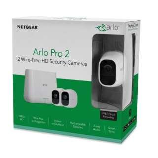 VMS4230P100JPS スマートセキュリティシステム Arlo Pro 2 [暗視対応 /有線・無線 /屋外対応]