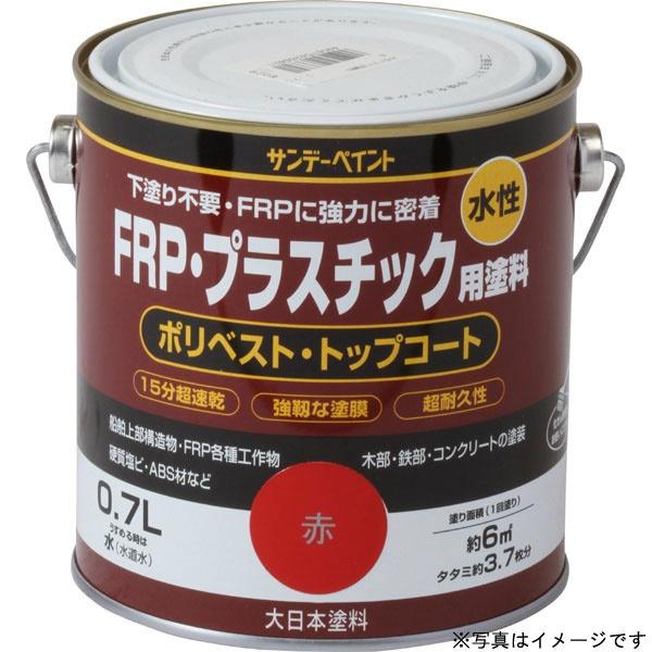 サンデーペイント サンデーペイント 水性FRPプラスチック用塗料 透明 700ml #266906
