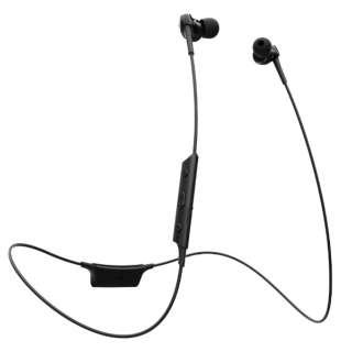 bluetooth イヤホン カナル型 NeEXTRA Series ブラック HP-NX30BTK [リモコン・マイク対応 /ワイヤレス(左右コード) /Bluetooth]