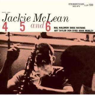 ジャッキー・マクリーン(as)/ 4, 5 & 6 限定盤 【CD】