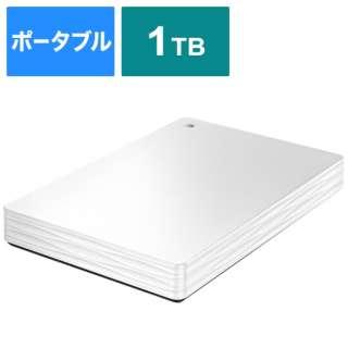 HDPH-UT1WR 外付けHDD ホワイト [ポータブル型 /1TB]