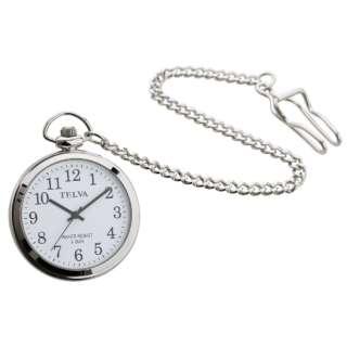 TELVA 懐中時計 [電池式] TE-AM153-WTS
