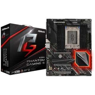 マザーボード X399 Phantom Gaming 6 [ATX /TR4 Socket Ryzen Threadripper Series CPUs]