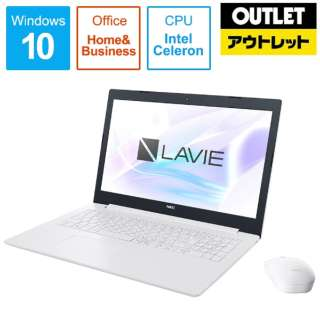 【アウトレット品】 15.6型ノートPC [Office付・Celeron・500GB・メモリ4GB]  NEC LAVIE Direct NS  PC-GN11FJRCDCHDD2TDA 【数量限定品】