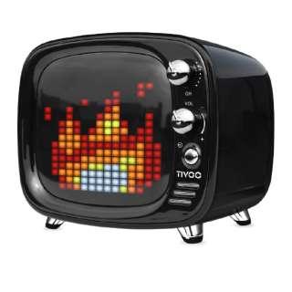 TIVOO BLACK ブルートゥース スピーカー ブラック [Bluetooth対応]