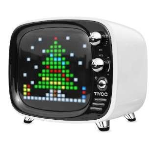 TIVOO WHITE ブルートゥース スピーカー ホワイト [Bluetooth対応]