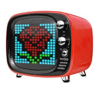 TIVOO RED ブルートゥース スピーカー レッド [Bluetooth対応]