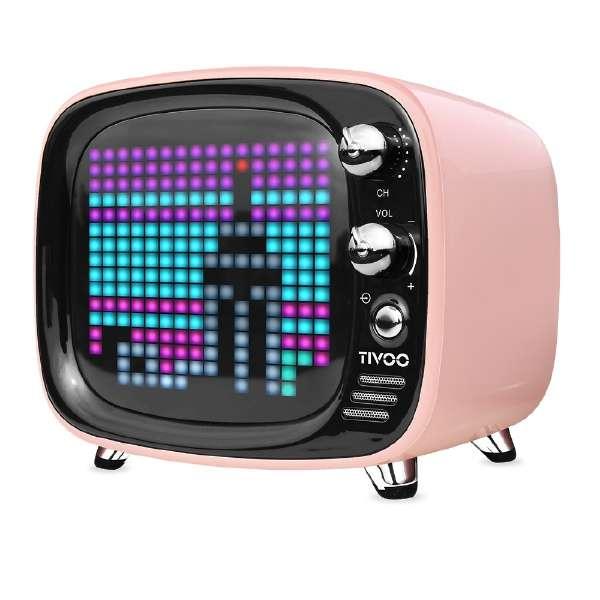 TIVOO PINK ブルートゥース スピーカー ピンク [Bluetooth対応]