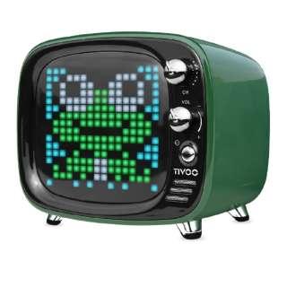 TIVOO GREEN ブルートゥース スピーカー グリーン [Bluetooth対応]