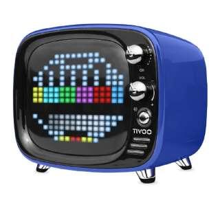 TIVOO BLUE ブルートゥース スピーカー ブルー [Bluetooth対応]