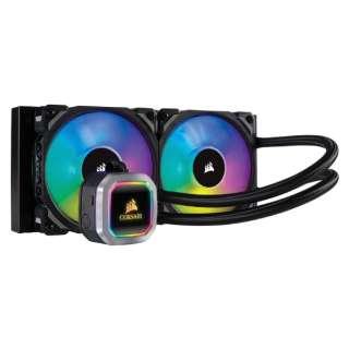 水冷CPUクーラー H100i RGB PLATINUM CW-9060039-WW [Intel LGA2066/LGA2011/LGA1366/LGA1156/LGA1155/LGA1151/LGA1150/・AMD Socket/TR4/AM4/AM2/AM3/AM4/FM1/FM2]