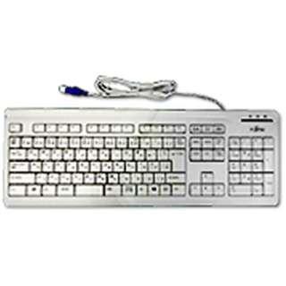 FMV-KB327 キーボード マーブルグレー [USB /有線]
