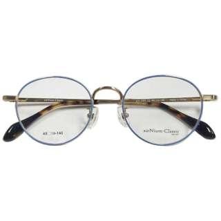 【度付き】airNium-Classic メガネセット(シルバー×ブルー)AC4-1007-2[超薄型/屈折率1.67/非球面]